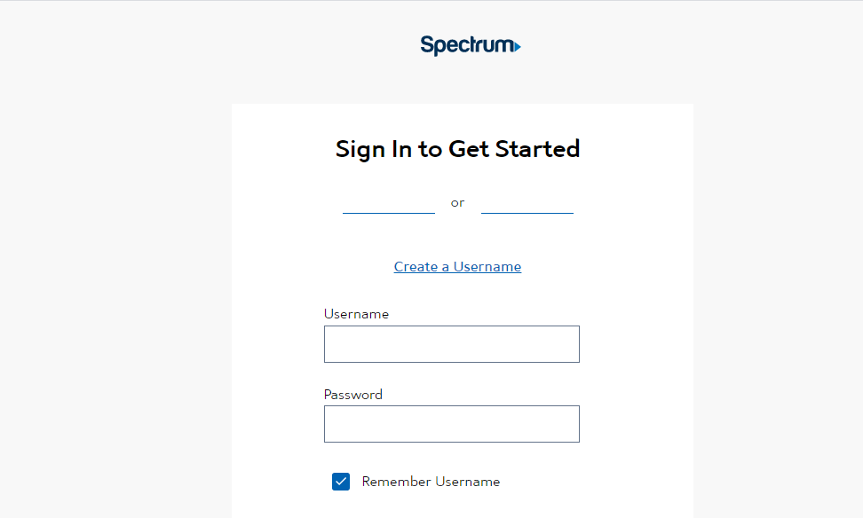 Spectrum App on Samsung TV