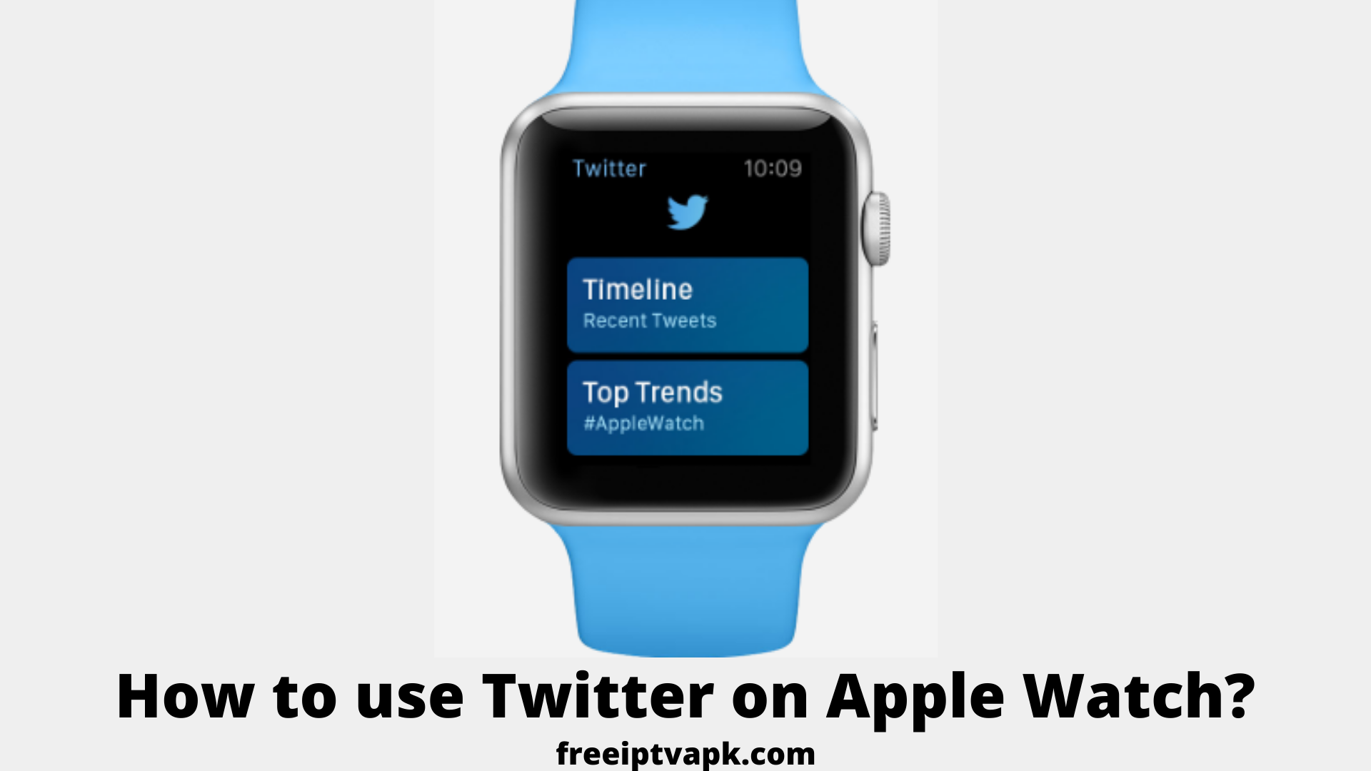 How to use Twitter on Apple Watch?