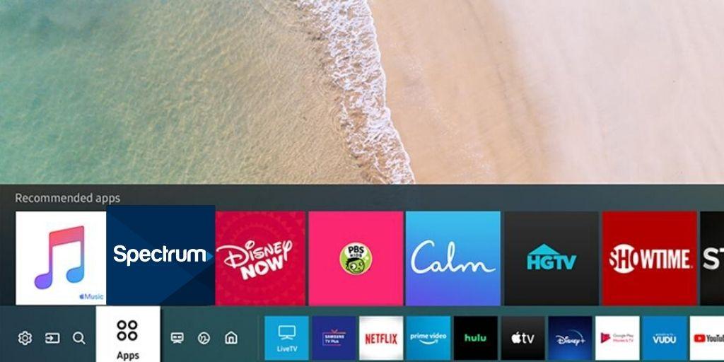 Spectrum TV on Samsung TV